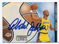 KAREEM ABDUL-JABBAR LOS ANGELES LAKERS AUTOGRAPHED BASKETBALL CARD #11016H