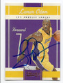 LAMAR ODOM LOS ANGELES LAKERS AUTOGRAPHED BASKETBALL CARD #11116F