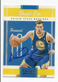 DAVID LEE GOLDEN STATE WARRIORS AUTOGRAPHED BASKETBALL CARD #11316G
