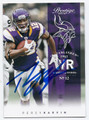 PERCY HARVIN MINESOTA VIKINGS AUTOGRAPHED FOOTBALL CARD #11316H