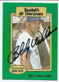 BILLY WILLIAMS CHICAGO CUBS AUTOGRAPHED VINTAGE BASEBALL CARD #11416B