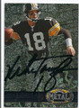MIKE TOMCZAK PITTSBURGH STEELERS AUTOGRAPHED FOOTBALL CARD #11416K