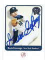 "RICH ""GOOSE"" GOSSAGE NEW YORK YANKEES AUTOGRAPHED BASEBALL CARD #11516L"