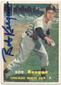 BOB KEEGAN CHICAGO WHITE SOX  AUTOGRAPHED VINTAGE BASEBALL CARD #11615D