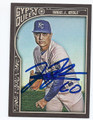 JASON VARGAS KANSAS CITY ROYALS AUTOGRAPHED BASEBALL CARD #11716B