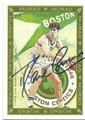 DAVE COWENS BOSTON CELTICS AUTOGRAPHED BASKETBALL CARD #11716F