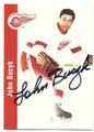 JOHN BUCYK DETROIT RED WINGS AUTOGRAPHED HOCKEY CARD #11916K