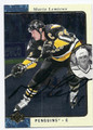 MARIO LEMIEUX PITTSBURGH PENGUINS AUTOGRAPHED HOCKEY CARD #12316L