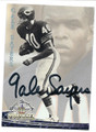 GALE SAYERS CHICAGO BEARS AUTOGRAPHED FOOTBALL CARD #12816A
