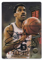 JULIUS ERVING PHILADELPHIA 76ers AUTOGRAPHED BASKETBALL CARD #20116F