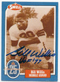 BILL WILLIS CLEVELAND BROWNS AUTOGRAPHED VINTAGE FOOTBALL CARD #20216H