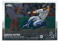 ADAM EATON CHICAGO WHITE SOX AUTOGRAPHED BASEBALL CARD #20316G