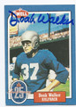 DOAK WALKER DETROIT LIONS AUTOGRAPHED VINTAGE FOOTBALL CARD #20516A