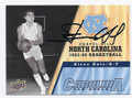 STEVE HALE NORTH CAROLINA TAR HEELS AUTOGRAPHED BASKETBALL CARD #21116L