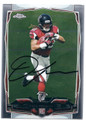 DEVONTA FREEMAN ATLANTA FALCONS AUTOGRAPHED ROOKIE FOOTBALL CARD #21216F