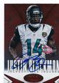 JUSTIN BLACKMON JACKSONVILLE JAGUARS AUTOGRAPHED FOOTBALL CARD #21316E