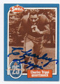 CHARLEY TRIPPI CHICAGO CARDINALS AUTOGRAPHED VINTAGE HALL OF FAME FOOTBALL CARD #21516B