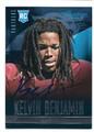 KELVIN BENJAMIN CAROLINA PANTHERS AUTOGRAPHED ROOKIE FOOTBALL CARD #21516E