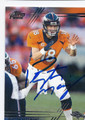 PEYTON MANNING DENVER BRONCOS AUTOGRAPHED FOOTBALL CARD #21616A