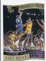 KOBE BRYANT LOS ANGELES LAKERS AUTOGRAPHED BASKETBALL CARD #21616F