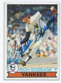 "RICH ""GOOSE"" GOSSAGE NEW YORK YANKEES AUTOGRAPHED VINTAGE BASEBALL CARD #21616i"