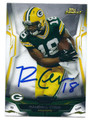 RANDALL COBB GREEN BAY PACKERS AUTOGRAPHED FOOTBALL CARD #21616J