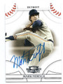 MARK FIDRYCH DETROIT TIGERS AUTOGRAPHED BASEBALL CARD #21816H