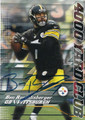 BEN ROETHLISBERGER PITTSBURGH STEELERS AUTOGRAPHED FOOTBALL CARD #22316A