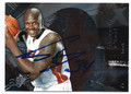 SHAQUILLE O'NEAL MIAMI HEAT AUTOGRAPHED BASKETBALL CARD #22416C