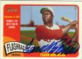 FRANK ROBINSON CINCINNATI REDS AUTOGRAPHED BASEBALL CARD #22416J