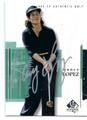 NANCY LOPEZ AUTOGRAPHED GOLF CARD #22516J