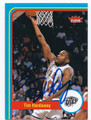 TIM HARDAWAY UNIVERSITY OF TEXAS EL PASO MINERS AUTOGRAPHED BASKETBALL CARD #22616A