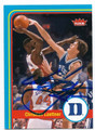 CHRISTIAN LAETTNER DUKE BLUE DEVILS AUTOGRAPHED BASKETBALL CARD #22616L