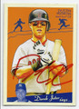 DUSTIN PEDROIA BOSTON RED SOX AUTOGRAPHED BASEBALL CARD #30716A