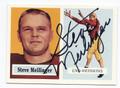 STEVE MEILINGER WASHINGTON REDSKINS AUTOGRAPHED FOOTBALL CARD #30716F