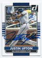 JUSTIN UPTON SAN DIEGO PADRES AUTOGRAPHED BASEBALL CARD #31016A