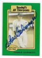 CHARLIE GEHRINGER DETROIT TIGERS AUTOGRAPHED VINTAGE BASEBALL CARD #31416B