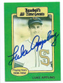 LUKE APPLING CHICAGO WHITE SOX AUTOGRAPHED VINTAGE BASEBALL CARD #31516D