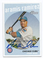 ARAMIS RAMIREZ CHICAGO CUBS AUTOGRAPHED BASEBALL CARD #31716G
