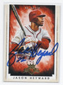 JASON HEYWARD ST LOUIS CARDINALS AUTOGRAPHED BASEBALL CARD #31916E