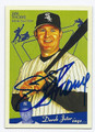 JIM THOME CHICAGO WHITE SOX AUTOGRAPHED BASEBALL CARD #32216C