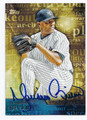 MARIANO RIVERA NEW YORK YANKEES AUTOGRAPHED BASEBALL CARD #32416A