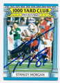 STANLEY MORGAN NEW ENGLAND PATRIOTS AUTOGRAPHED VINTAGE FOOTBALL CARD #32416G