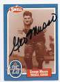 GEORGE MUSSO CHICAGO BEARS AUTOGRAPHED VINTAGE FOOTBALL CARD #32616G