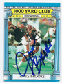 JAMES BROOKS CINCINNATI BENGALS AUTOGRAPHED VINTAGE FOOTBALL CARD #32716A