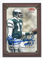 HAROLD CARMICHAEL PHILADELPHIA EAGLES AUTOGRAPHED FOOTBALL CARD #32816C