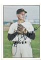 JACK KRAMER NEW YORK GIANTS AUTOGRAPHED VINTAGE BASEBALL CARD #32816D