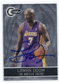 LAMAR ODOM LOS ANGELES LAKERS AUTOGRAPHED & NUMBERED BASKETBALL CARD #33016B