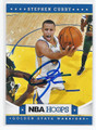 STEPHEN CURRY GOLDEN STATE WARRIORS AUTOGRAPHED BASKETBALL CARD #33116C