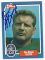 JIM RINGO GREEN BAY PACKERS AUTOGRAPHED VINTAGE FOOTBALL CARD #33116E
